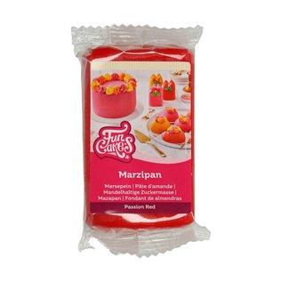 FunCakes FunCakes Marsepein Rood -Passion Red-250g-