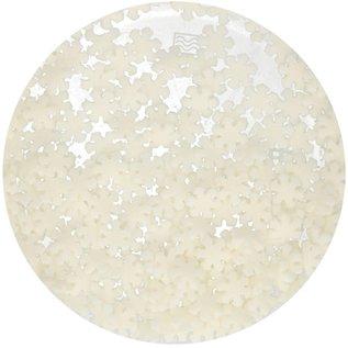 FunCakes FunCakes Glitter Sneeuwvlokken Wit 50g