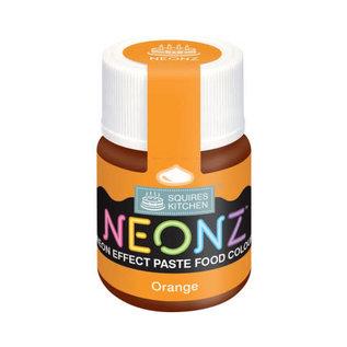 SK Squires Kitchen NEONZ Kleurstof Gel Oranje 20g