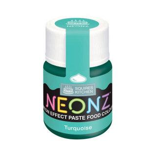 SK Squires Kitchen NEONZ Kleurstof Gel Turquoise 20g
