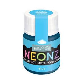 SK Squires Kitchen NEONZ Kleurstof Gel Blauw 20 g