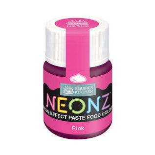 SK Squires Kitchen NEONZ Kleurstof Gel roze 20g