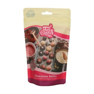 FunCakes FunCakes Chocolade Melts Ruby -250g-