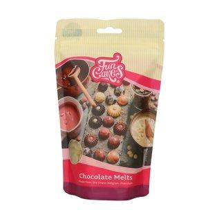 FunCakes FunCakes Chocolade Melts Wit -350g-