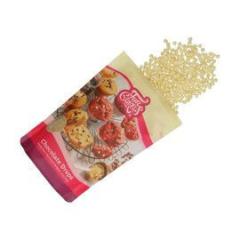 FunCakes FunCakes Chocolade Drops Wit -350g-