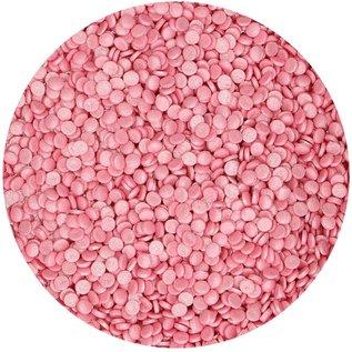 FunCakes FunCakes Confetti Metallic Roze 70g