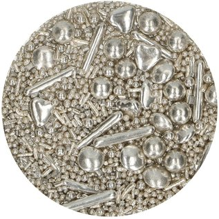 FunCakes FunCakes Sprinkle Medley -Silver- 65g