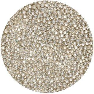 FunCakes FunCakes Suikerparels Medium Metallic Zilver 80 g