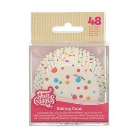 FunCakes FunCakes Baking Cups -Confetti- pk/48