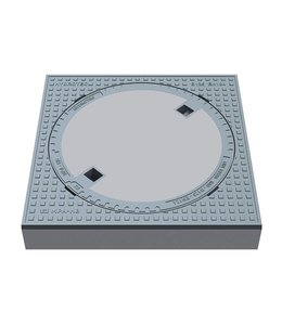 HYDROTEC Putafdekking ECO 610, h=125mm, klasse B, 125KN