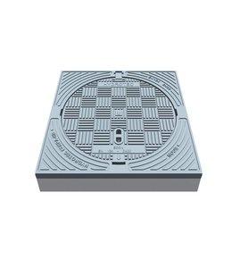 HYDROTEC Putafdekking ECON 600, h=125mm, klasse D, 400KN