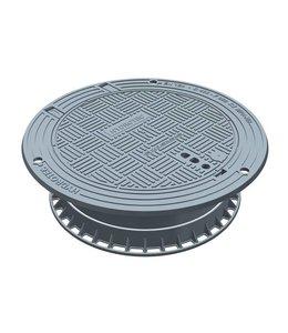 HYDROTEC Putafdekking ECON SN 800, h=230mm, zelflevel, klasse D, 400KN