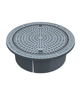 HYDROTEC Putafdekking SCANDICpur, h=250mm, zelflevel, klasse D, 400KN