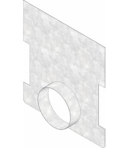 Hauraton Eindplaat open Faserfix TI 500 type 600