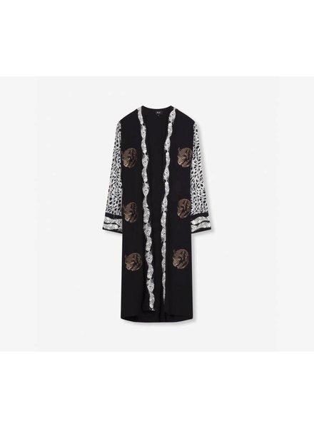 Alix The Label Kimono Leopard 9032