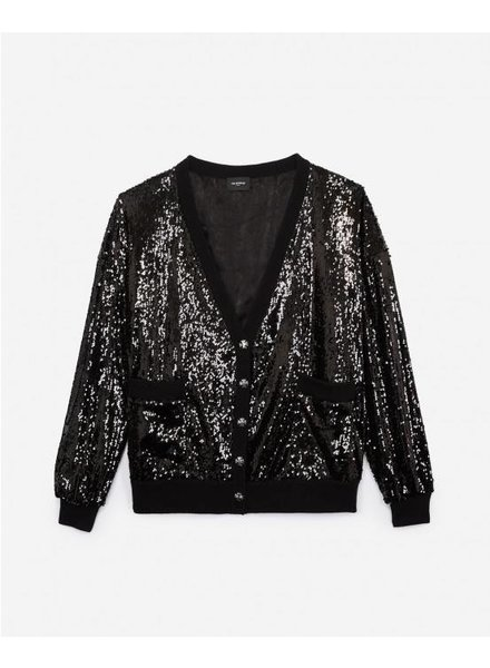 The Kooples Sequins Cardigan