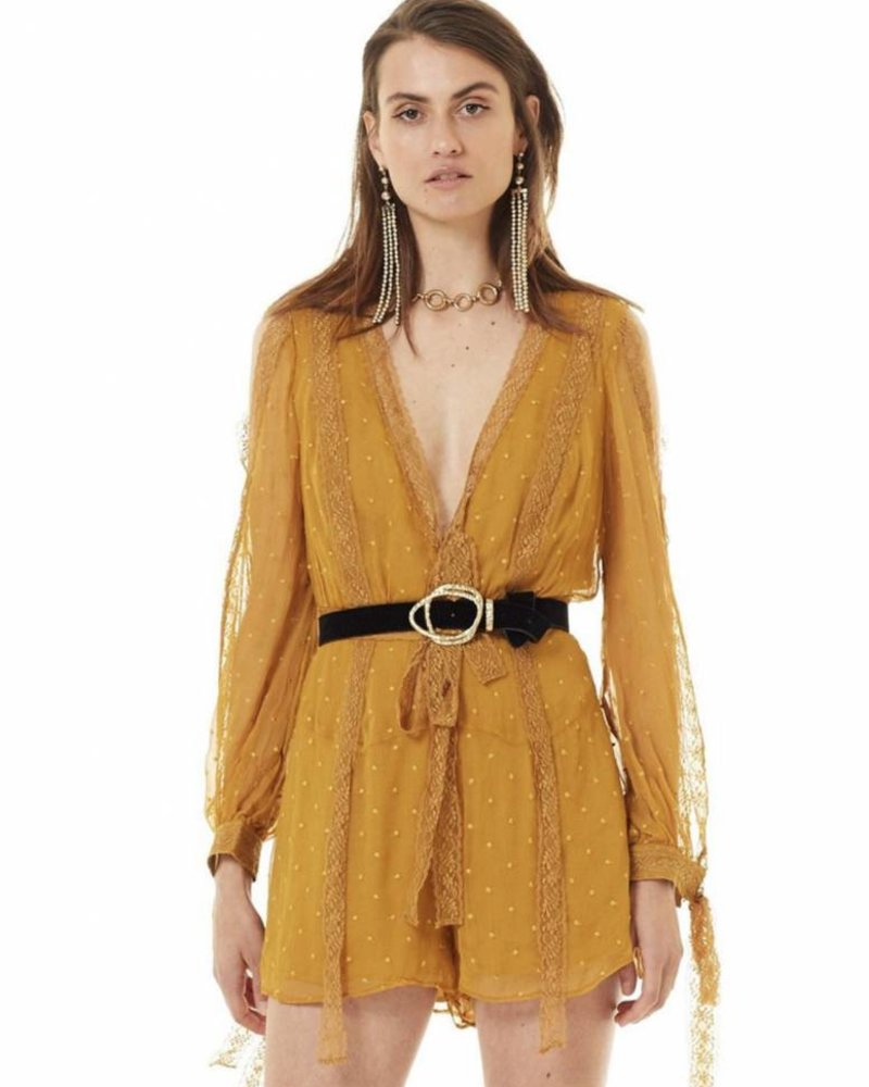 STEVIE MAY Dysania playsuit