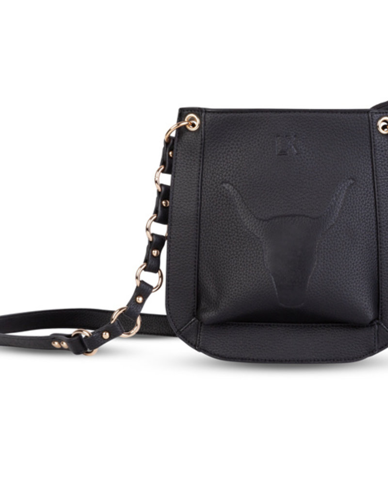 Alix The Label Fake leather shoulder bag black
