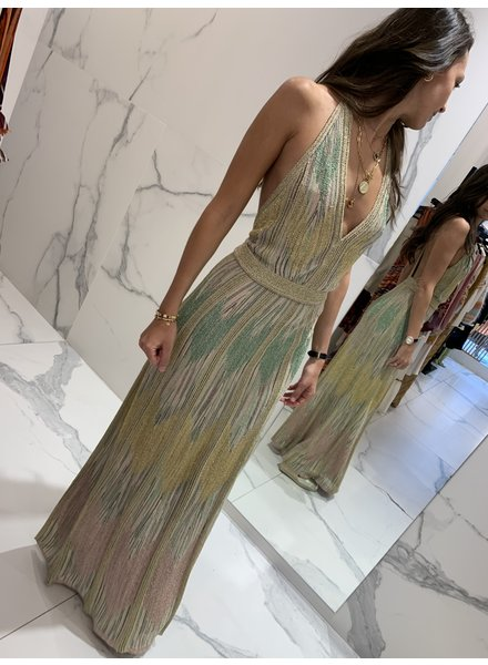 Mmissoni Longue robe gold