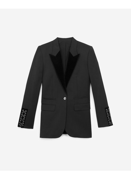 The Kooples Veste de smoking col en velour / AW19