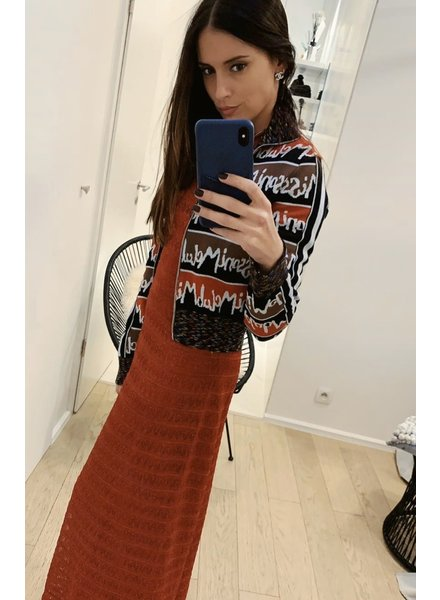 Mmissoni Longue robe rouge