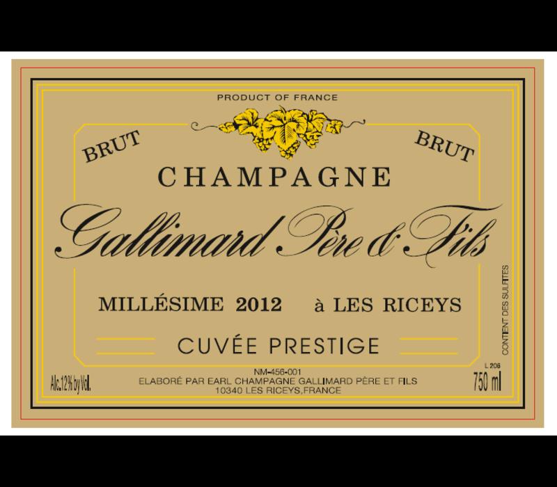 Champagne Cuvée Prestige Millésime - 750ml