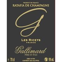 Ratafia de Champagne - 750 ml Liquor