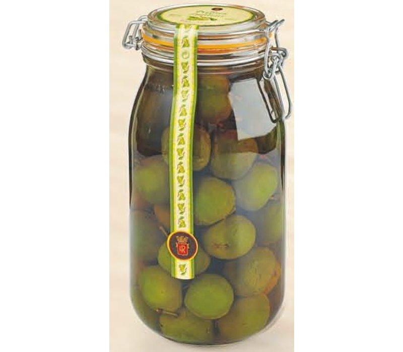 Prune vertes à la Liqueur