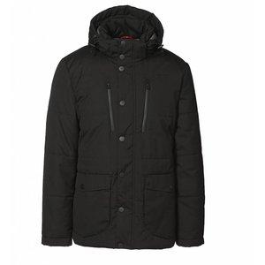 Tolle Parka Winterjacke mit vielen großen Taschen und abnehmbarer Kapuze