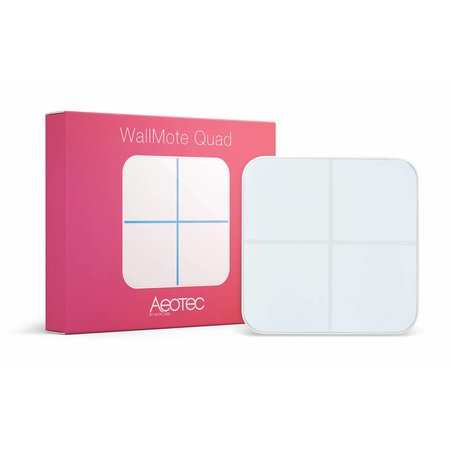 AEOTEC AEOTEC WallMote Quad Z-wave Plus Opbouw Schakelaar