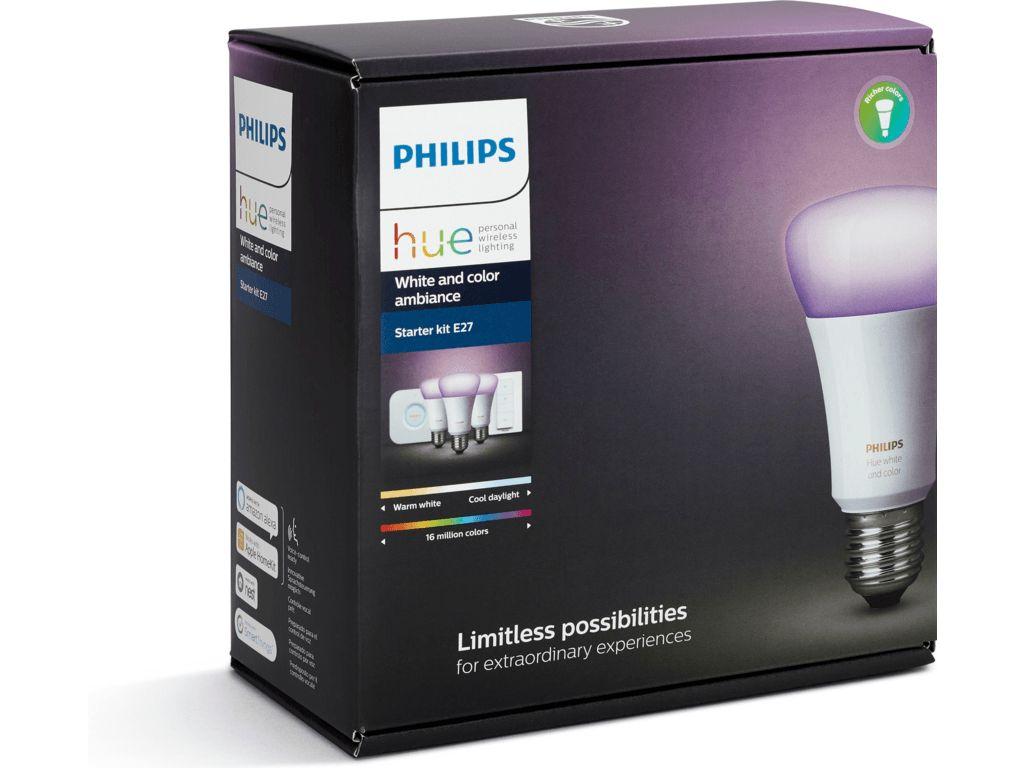 PHILIPS HUE Philips Hue White & Color E27 Starterset