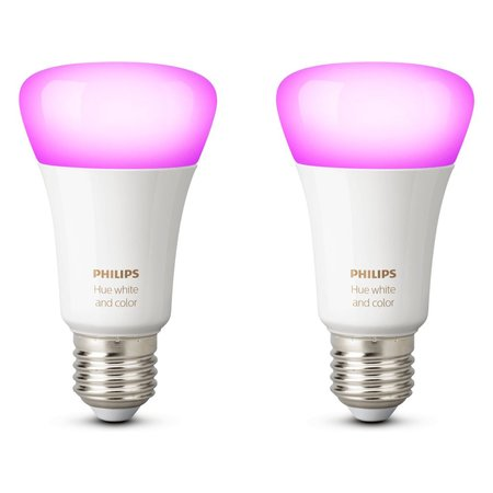 PHILIPS HUE Philips Hue White & Color E27 Duo-pack