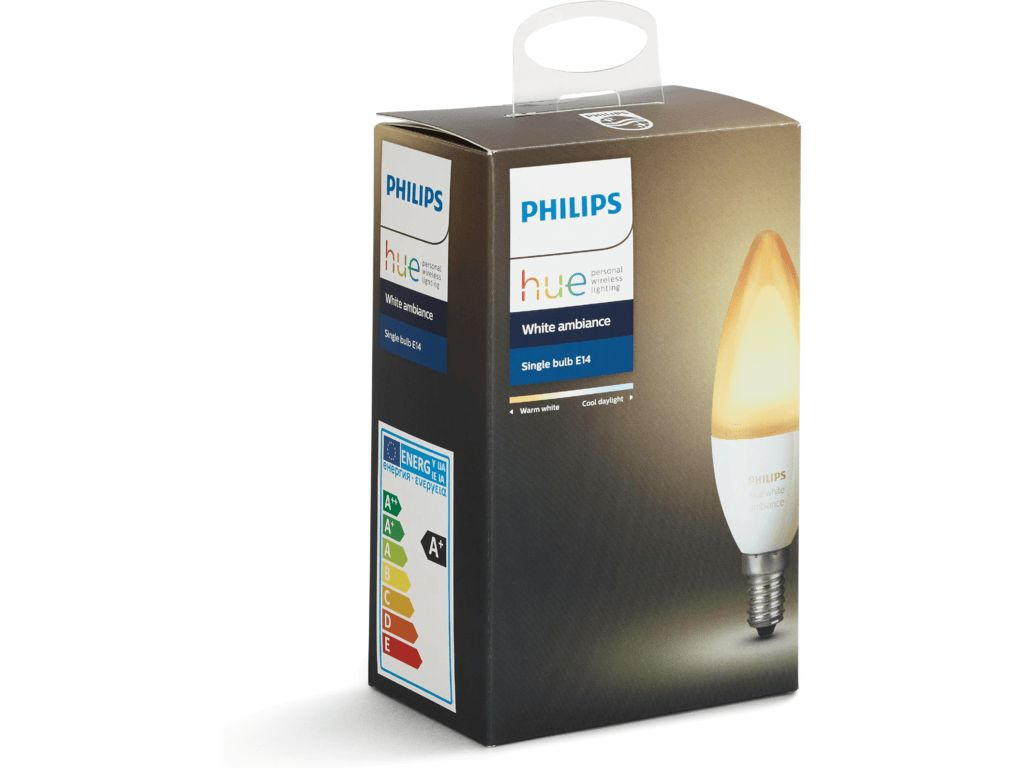 PHILIPS HUE Philips Hue White Ambiance E14 Single-pack