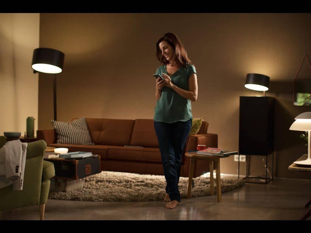 Philips Hue Lampen E14.Home2link Philips Hue White Ambiance E14 Single Pack Home2link