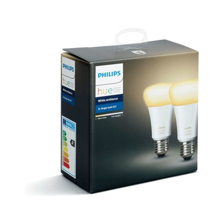 PHILIPS HUE Philips Hue White Ambiance E27 Duo-pack
