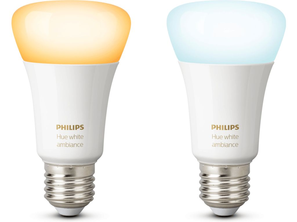 Philips Wekker Licht : Home2link philips hue white ambiance e27 duo pack home2link