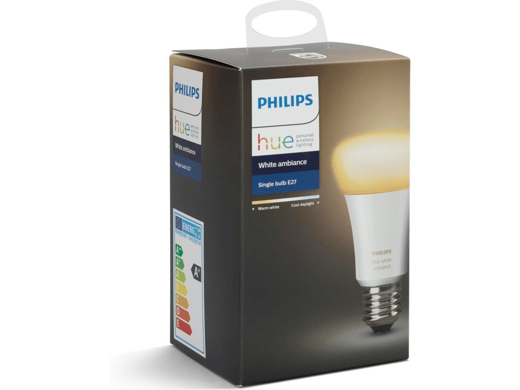 PHILIPS HUE Philips Hue White Ambiance E27 Single-pack