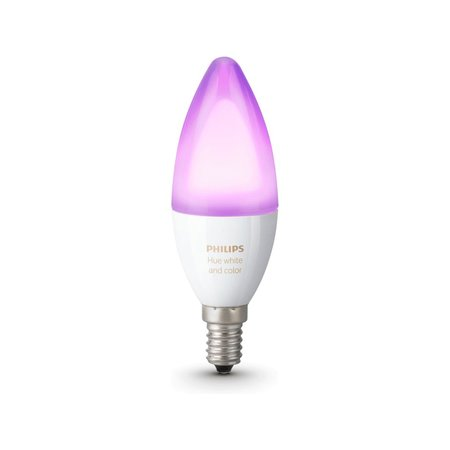 PHILIPS HUE Philips Hue White & Color E14 Single-pack