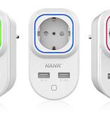 HANK HANK Z-wave Plus Tussenstekker met USB
