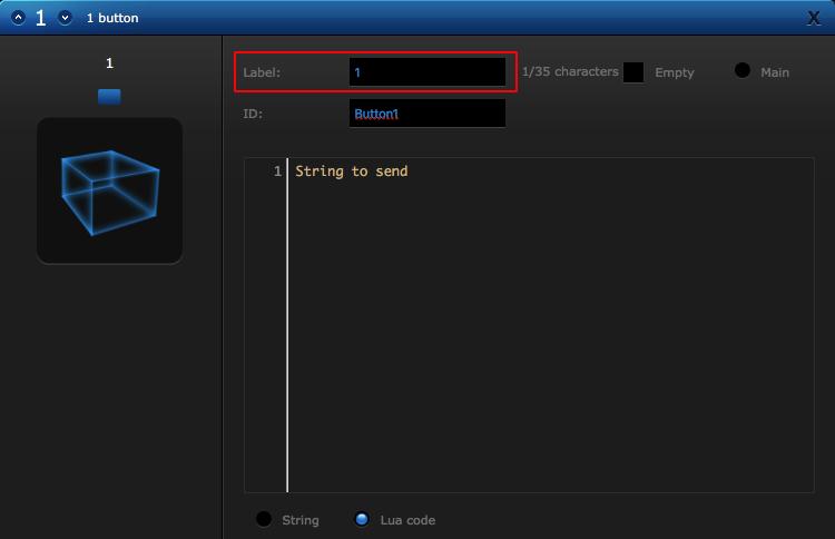 Fibaro Virtual Device Label 1