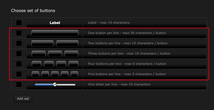Fibaro Virtual Device Button Label