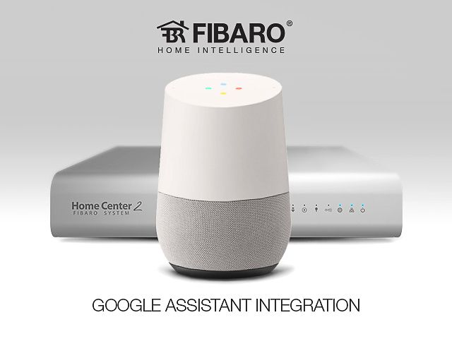 FIBARO met Google Home en Assistent