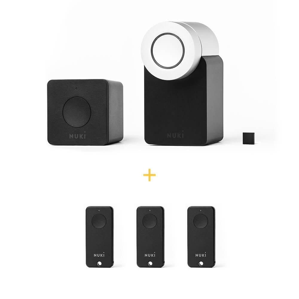 NUKI Nuki Smart Lock 2.0 Family Combo Deal