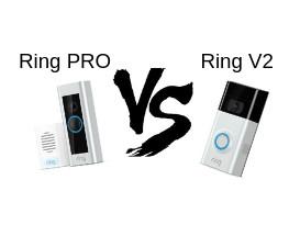 Video Doorbell Battle : Ring V2 VS Ring PRO