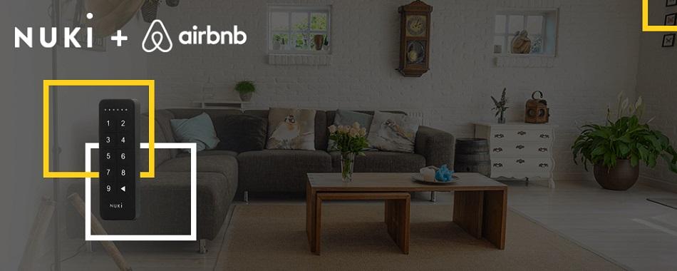 Nuki Keypad Airbnb integratie