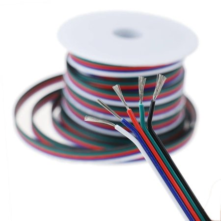 LED-Strip 1m AWG18 verlengkabel RGBW