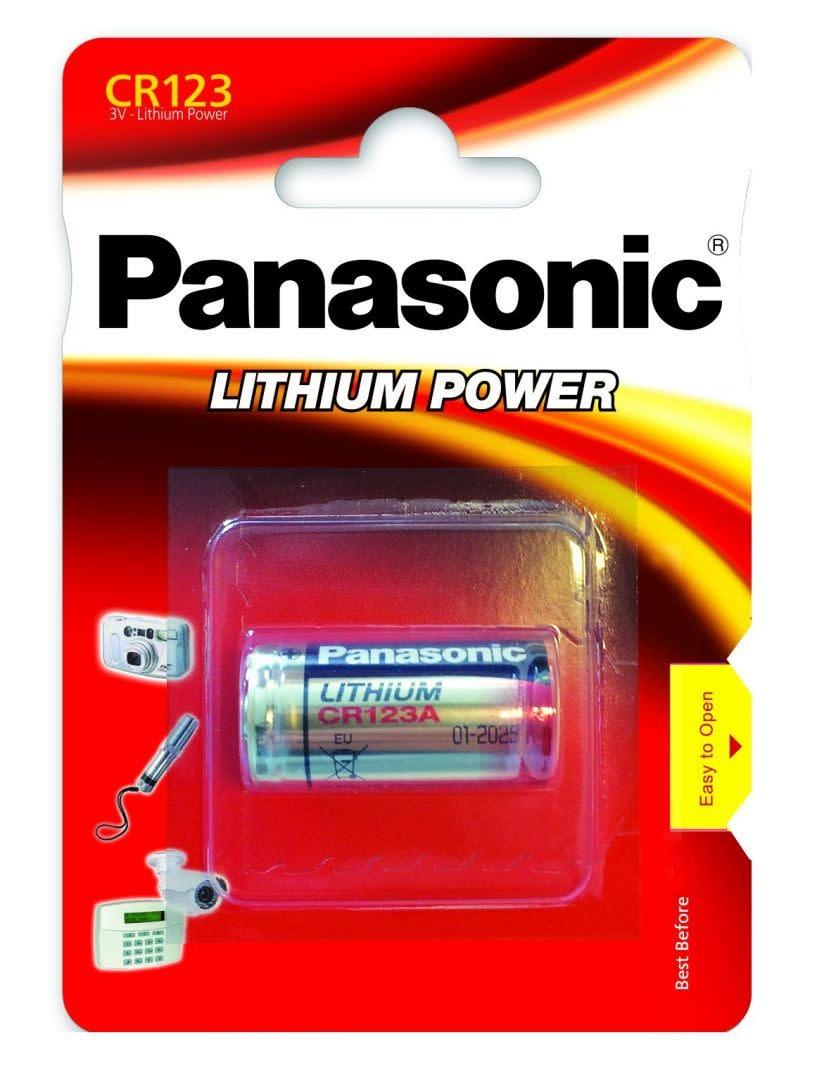 PANASONIC Panasonic CR123A Lithium Batterij