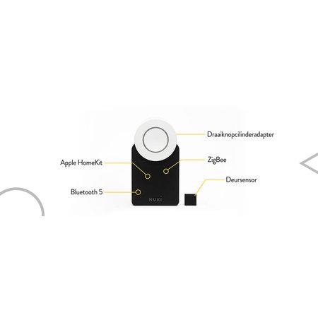 NUKI Nuki Smart Lock 2.0 Keypad Combo