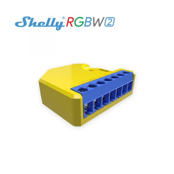 SHELLY Shelly RGBW LED WiFi inbouw dimmer