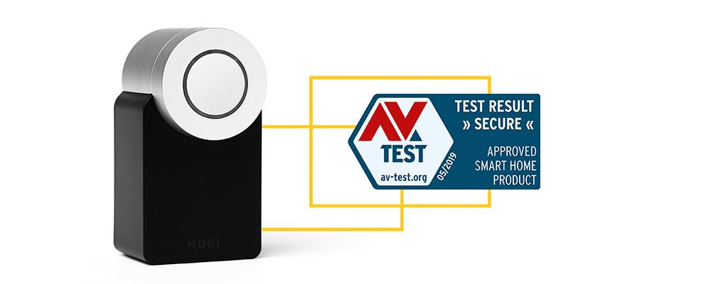 Nuki AV-Test veilig mei 2019